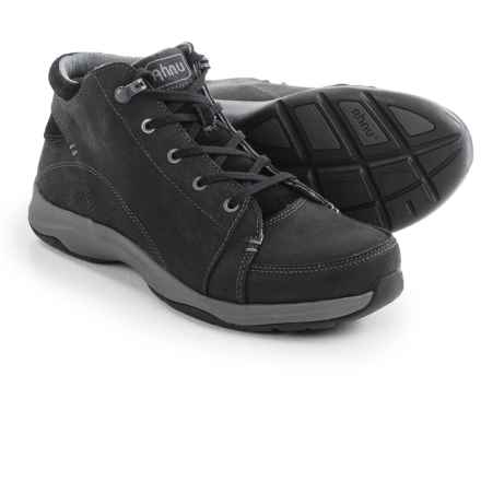 Ahnu Fairfax Shoes - Waterproof, Leather (For Women) in Black - Closeouts