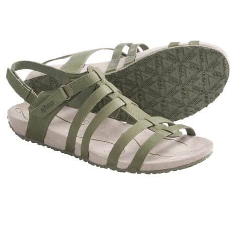 Ahnu Felicity Fisherman Style Sandals (For Women) in Chocolate Chip