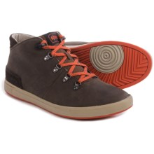Ahnu Fulton Mid Leather Sneakers (For Men) in Corduroy - Closeouts