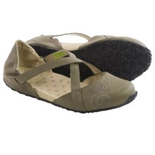 Ahnu Good Karma Shoes - Vegan Leather (For Women) in Dark Olive - Closeouts