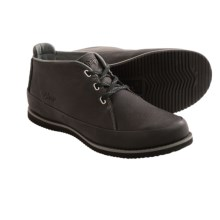 Ahnu Harris Chukka Boots - Leather (For Men) in Black - Closeouts