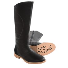 Ahnu Helena Tall Boots - Leather (For Women) in Black - Closeouts