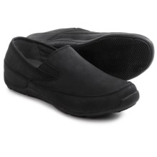 Ahnu Jack Pro Leather Shoes - Slip-Ons (For Men) in Black - Closeouts