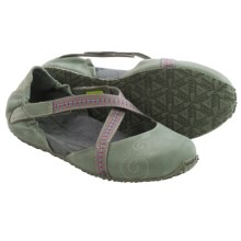 Ahnu Karma Latitude Shoes - Leather (For Women) in Agave Green - Closeouts