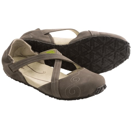 Ahnu Karma Mary Jane Shoes (For Women) in Smokey Brown