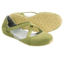 Ahnu Karma Mesh Minimalist Flats (For Women) in Dark Citron - Closeouts