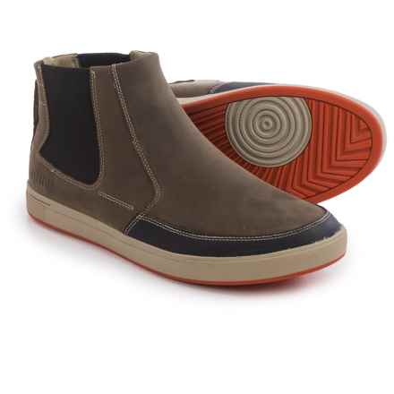 Ahnu Kezar Leather Chelsea Boots (For Men) in Walnut - Closeouts