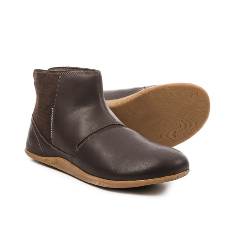 Ahnu Leela Ankle Booties - Leather (For Women) in Porter