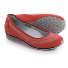 Ahnu Magnolia Shoes - Slip-Ons (For Women) in Cranberry - Closeouts