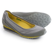 Ahnu Magnolia Shoes - Slip-Ons (For Women) in Moon Mist - Closeouts