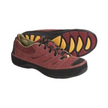 Ahnu Marina Shoes - Nubuck (For Women) in Ruby Wine - Closeouts