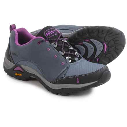 Ahnu Montara Breeze Hiking Shoes - Waterproof, Leather (For Women) in Winter Smoke - Closeouts