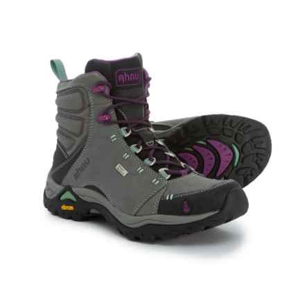 Ahnu Montara Hiking Boots - Waterproof (For Women) in Dark Grey - Closeouts
