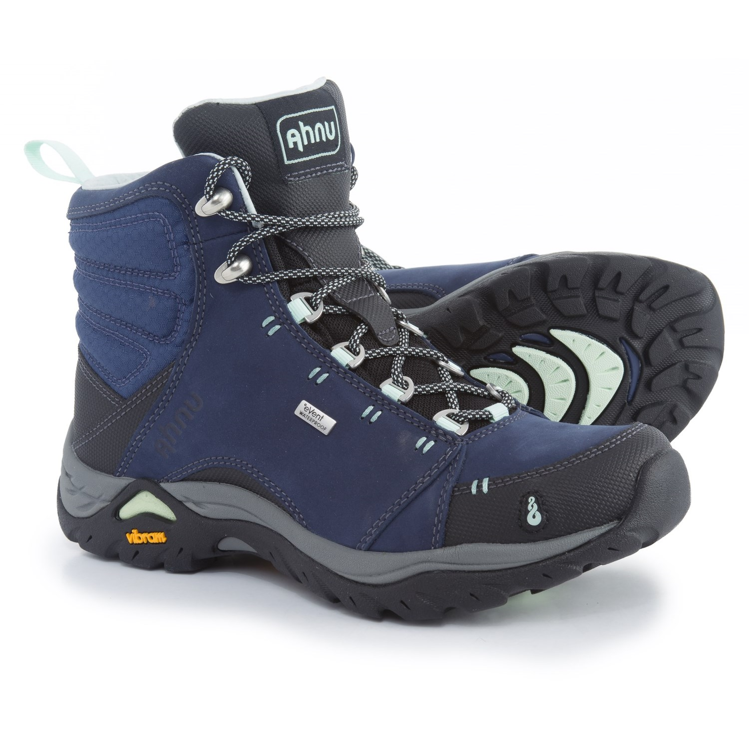 Ahnu Montara Hiking Boots - Waterproof (For Women) in Midnight Blue 4e705a361