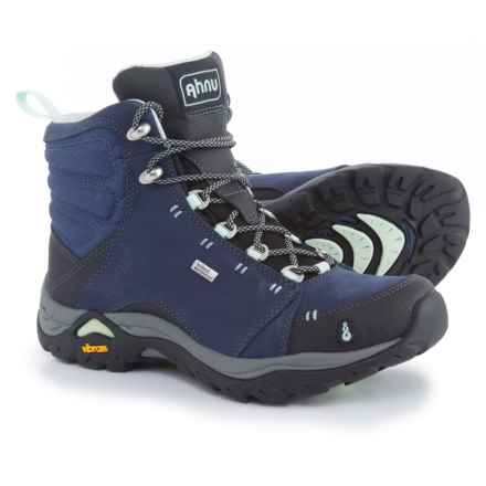 Ahnu Montara Hiking Boots - Waterproof (For Women) in Midnight Blue - Closeouts