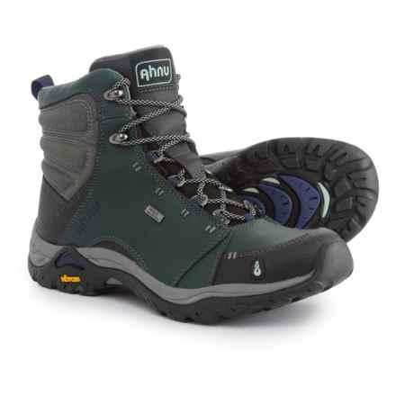Ahnu Montara Hiking Boots - Waterproof (For Women) in Muir Green - Closeouts