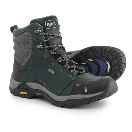 Ahnu Montara Hiking Boots - Waterproof (For Women) in Muir Green