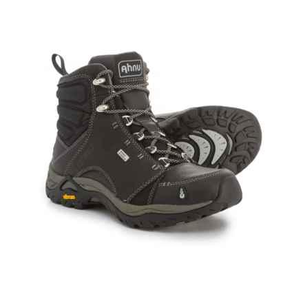 Ahnu Montara Hiking Boots - Waterproof (For Women) in New Black - Closeouts
