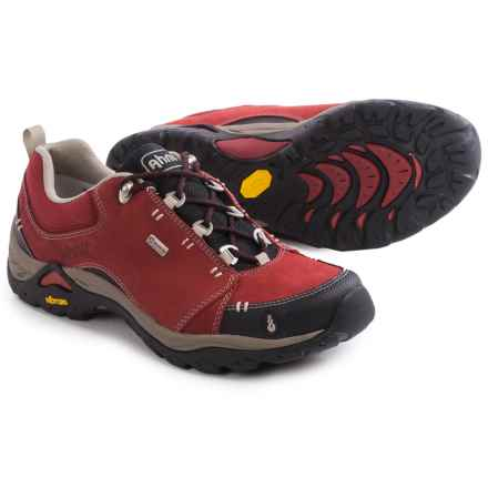 Ahnu Montara II Hiking Shoes - Waterproof (For Women) in Red Dahlia - Closeouts