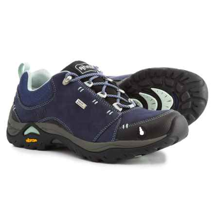 Ahnu Montara II Hiking Shoes - Waterproof, Leather (For Women) in Midnight Blue - Closeouts