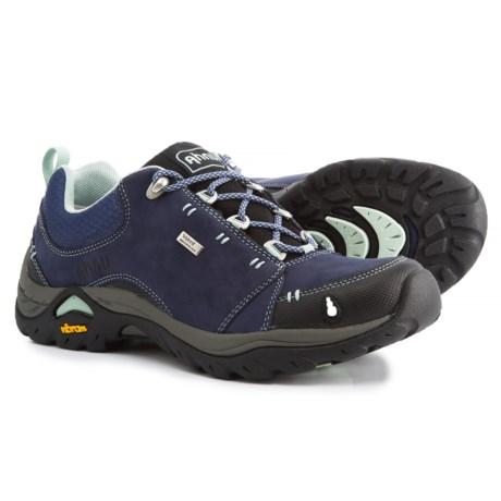 Ahnu Montara II Hiking Shoes - Waterproof, Leather (For Women) in Midnight Blue
