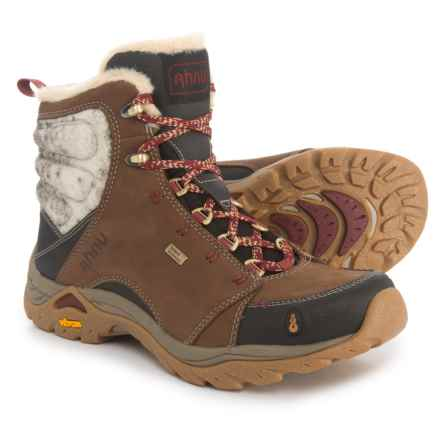 Ahnu Montara Luxe Hiking Boots - Waterproof, Insulated (For Women) in Corduroy - Closeouts
