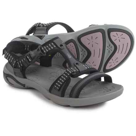 Ahnu Moonstone Sport Sandals (For Women) in Black - Closeouts