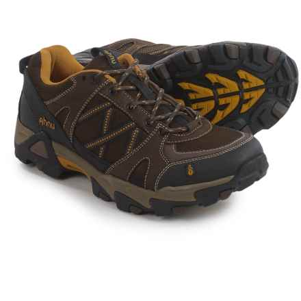 Ahnu Moraga Mesh Trail Shoes (For Men) in Smokey Brown - Closeouts