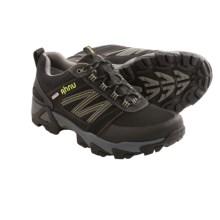 Ahnu Mount Tam Trail Shoes - Waterproof (For Men) in Black - Closeouts