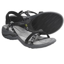 Ahnu Napa Sandals (For Women) in Black - Closeouts