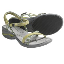 Ahnu Napa Sandals (For Women) in Bright Chartreuse - Closeouts