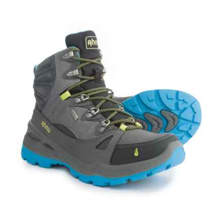 Ahnu North Peak eVent® Hiking Boots - Waterproof, Leather (For Women) in Dark Grey - Closeouts