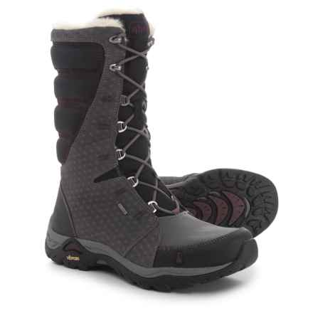 Ahnu Northridge Snow Boots - Waterproof, Insulated (For Women) in Gray - Closeouts
