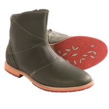 Ahnu Octavia Boots - Leather (For Women) in Rosin - Closeouts