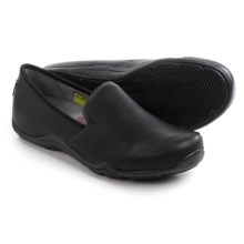 Ahnu Penny Pro Shoes - Leather, Slip-Ons (For Women) in Black - Closeouts