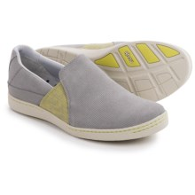 Ahnu Precita Shoes - Slip-Ons (For Women) in Fog Grey - Closeouts