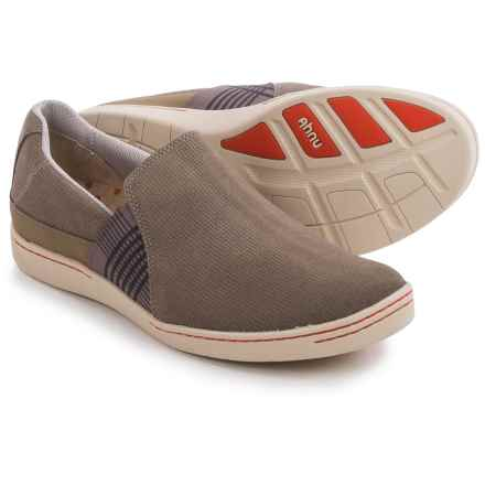Ahnu Precita Shoes - Slip-Ons (For Women) in Walnut - Closeouts