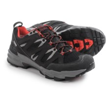 Ahnu Ridgecrest Hiking Shoes - Waterproof (For Men) in Black - Closeouts