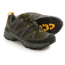 Ahnu Ridgecrest Hiking Shoes - Waterproof (For Men) in Dark Olive - Closeouts