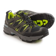 Ahnu Ridgecrest Hiking Shoes - Waterproof (For Men) in Dark Shadow - Closeouts