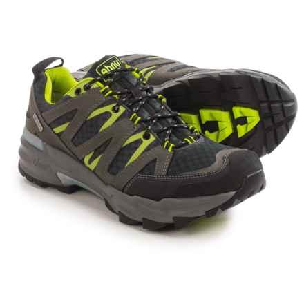 Ahnu Ridgecrest Hiking Shoes - Waterproof (For Men) in Dark Shadow - Closeouts