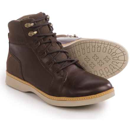 Ahnu Roanoke Leather Boots (For Men) in Corduroy - Closeouts