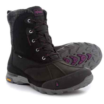 Ahnu Sugar Peak Snow Boots - Waterproof, Insulated (For Women) in Black - Closeouts
