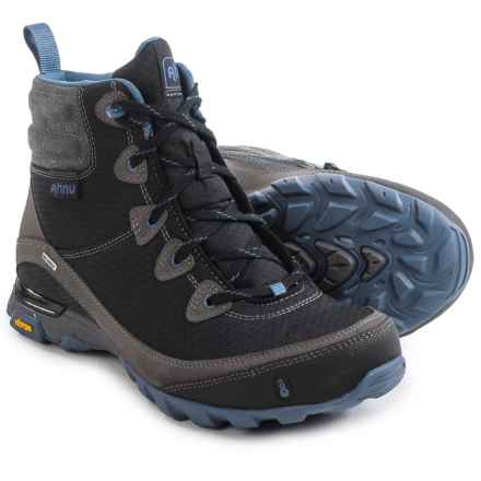Ahnu Sugarpine Hiking Boots - Waterproof (For Women) in Black - Closeouts