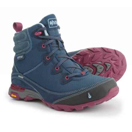 Ahnu Sugarpine Hiking Boots - Waterproof (For Women) in Blue Spell - Closeouts