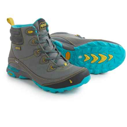 Ahnu Sugarpine Hiking Boots - Waterproof (For Women) in Dark Grey - Closeouts