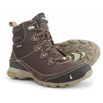 Ahnu Sugarpine Hiking Boots - Waterproof (For Women) in Mulch - Closeouts