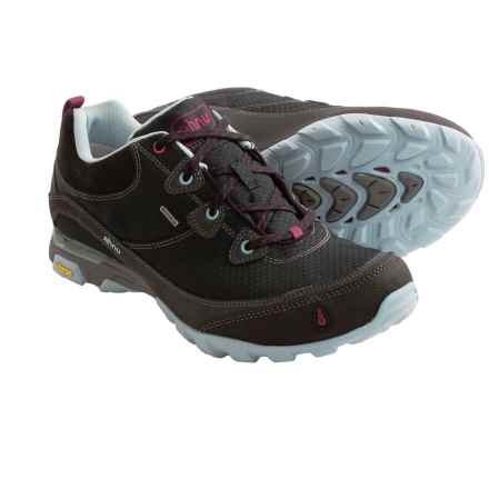 Ahnu Sugarpine Hiking Shoes - Waterproof (For Women) in Black - Closeouts