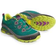 Ahnu Sugarpine Hiking Shoes - Waterproof (For Women) in Deep Teal - Closeouts
