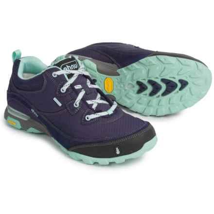Ahnu Sugarpine Hiking Shoes - Waterproof (For Women) in Eclipse - Closeouts
